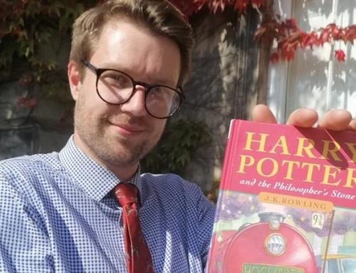 Куплена колись книга про Гаррі Поттера може допомогти британцю оплатити навчання доньки